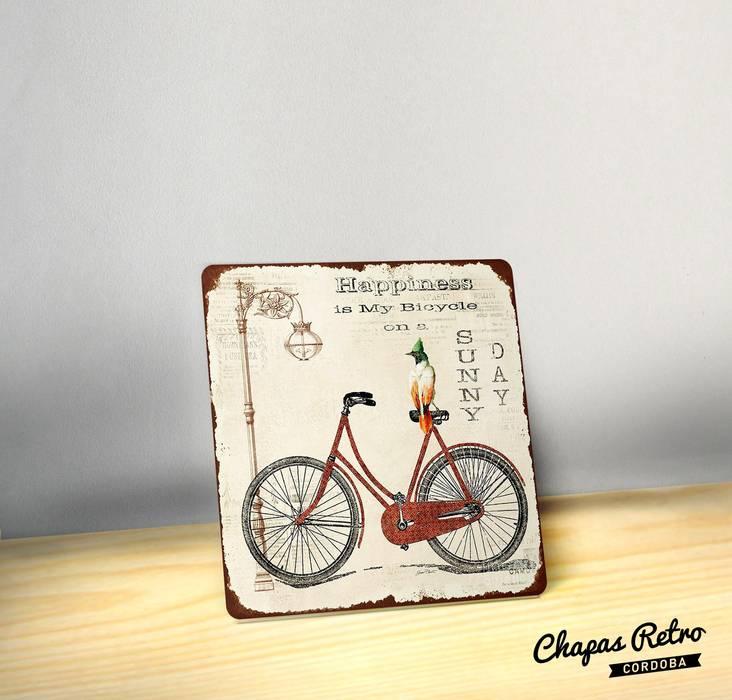 Chapas Vintage Chapas Retro HogarDecoración y accesorios