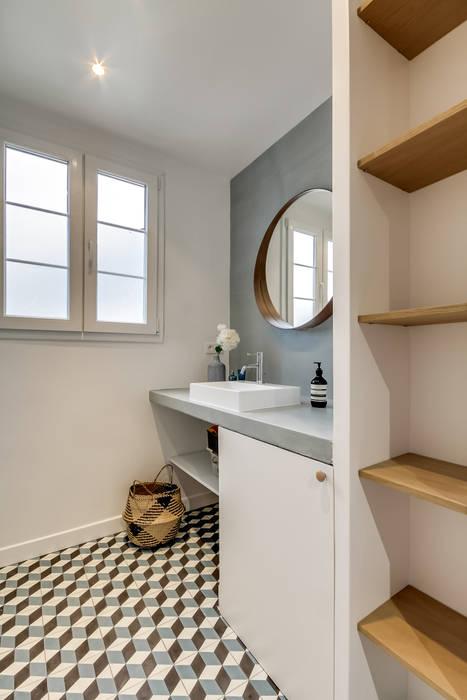 Badezimmer von Transition Interior Design ,