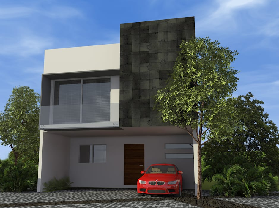 Houses by studioQUATTRO.mx, Modern