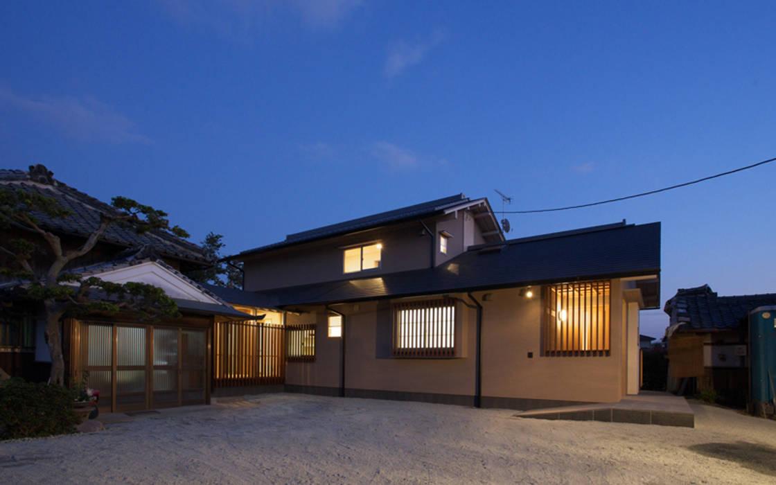 Дома в . Автор – AMI ENVIRONMENT DESIGN/アミ環境デザイン, Азиатский