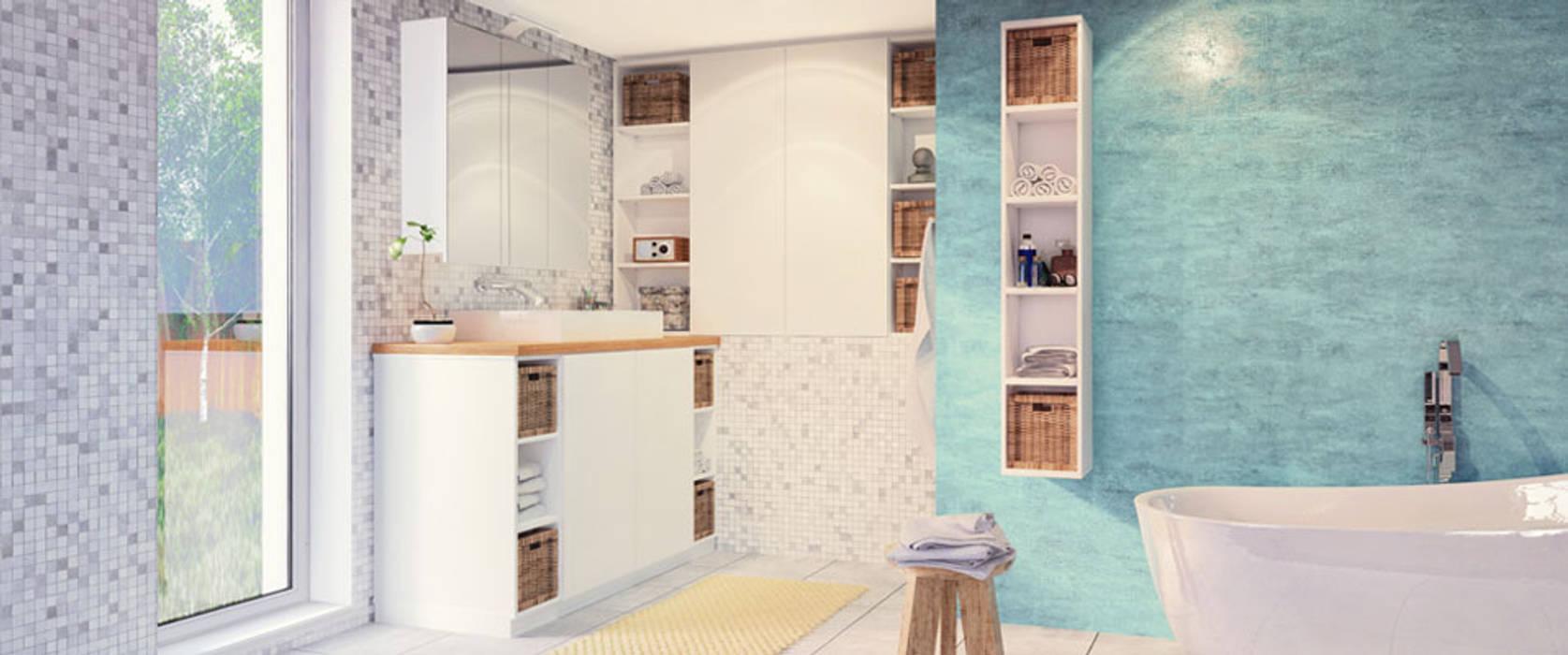 Badezimmermobel Nach Mass Badezimmer Von Deinschrank De Gmbh Homify