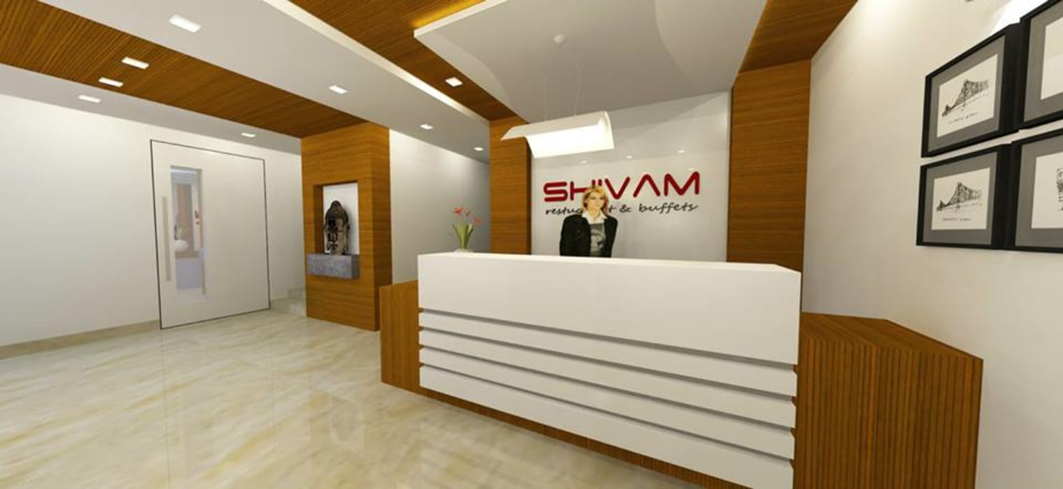 Shivam Hotel.:  Study/office by Archsmith project consultant ,