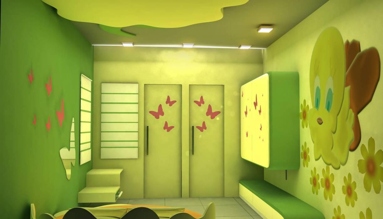 Kids room Designs:  Nursery/kid's room by ES Designs,