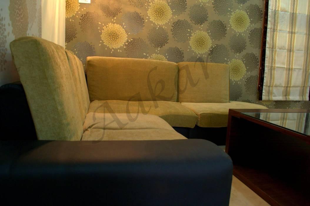 Modern living room by ESHA GARG : Interior Designer Modern