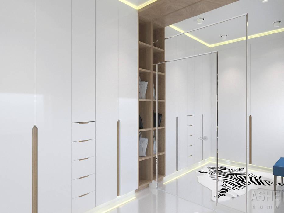Ruang Ganti Gaya Eklektik Oleh Студия авторского дизайна ASHE Home Eklektik
