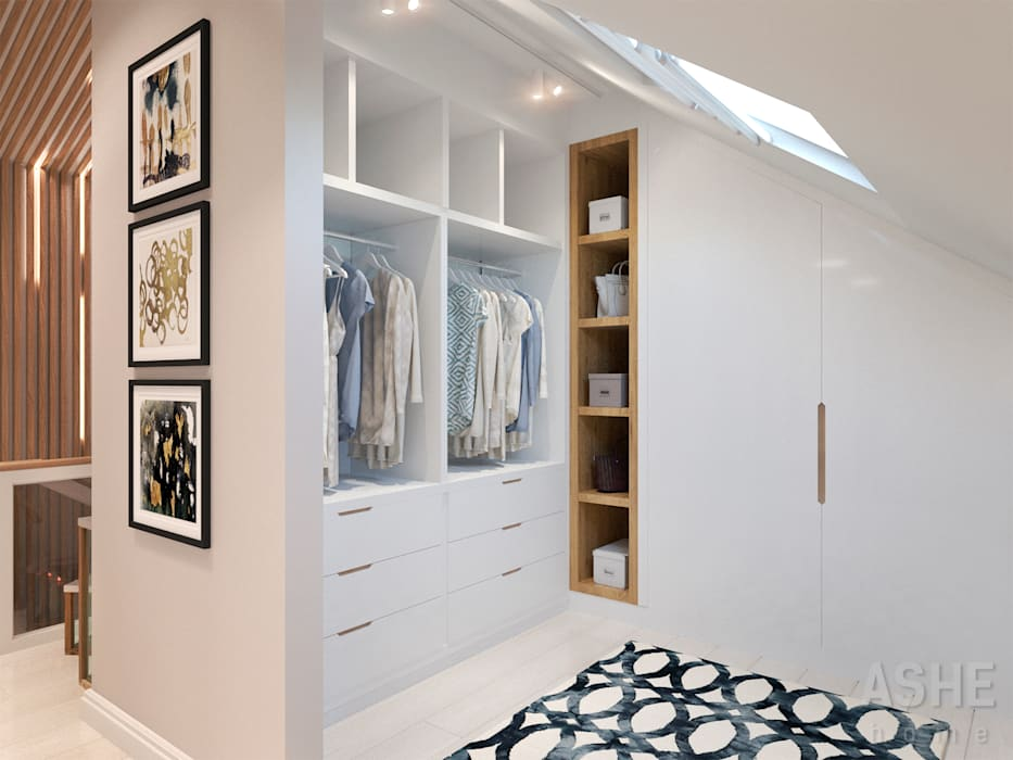 Ankleidezimmer von Студия авторского дизайна ASHE Home, Ausgefallen