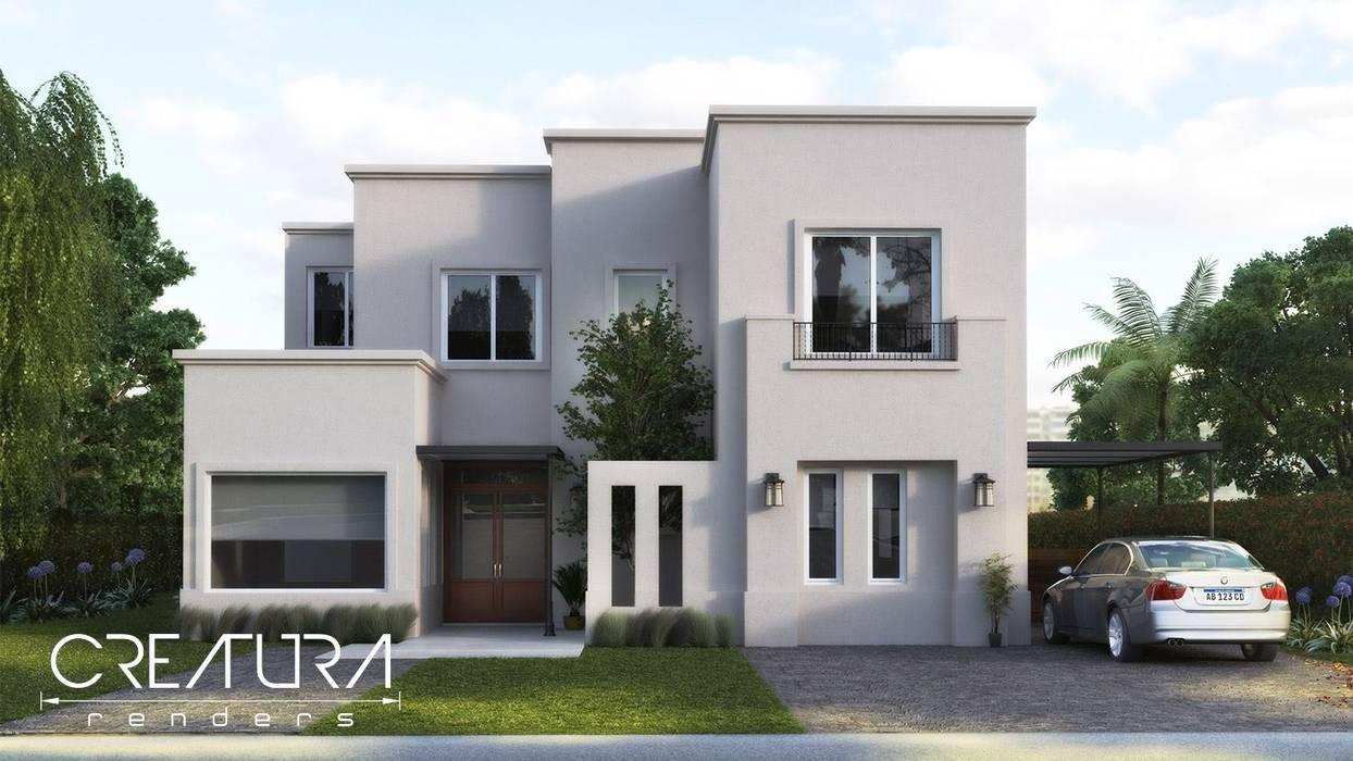 Maisons classiques par Creatura Renders Classique