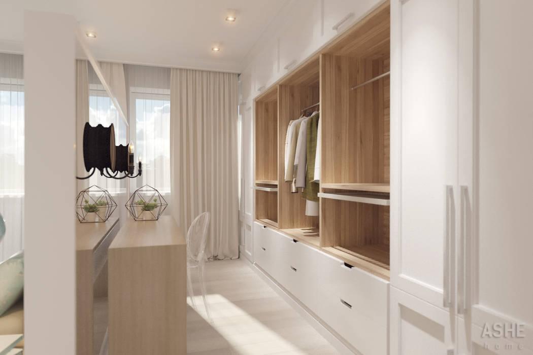 Closets de estilo ecléctico de Студия авторского дизайна ASHE Home Ecléctico