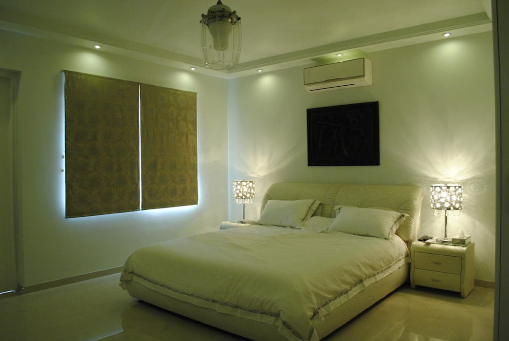 Chambre moderne par Construction Associates Moderne