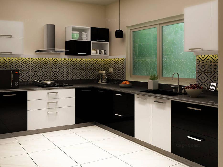 Cocinas de estilo moderno de Interiorwalaa Moderno