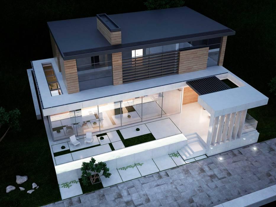 Rumah oleh Way-Project Architecture & Design, Minimalis