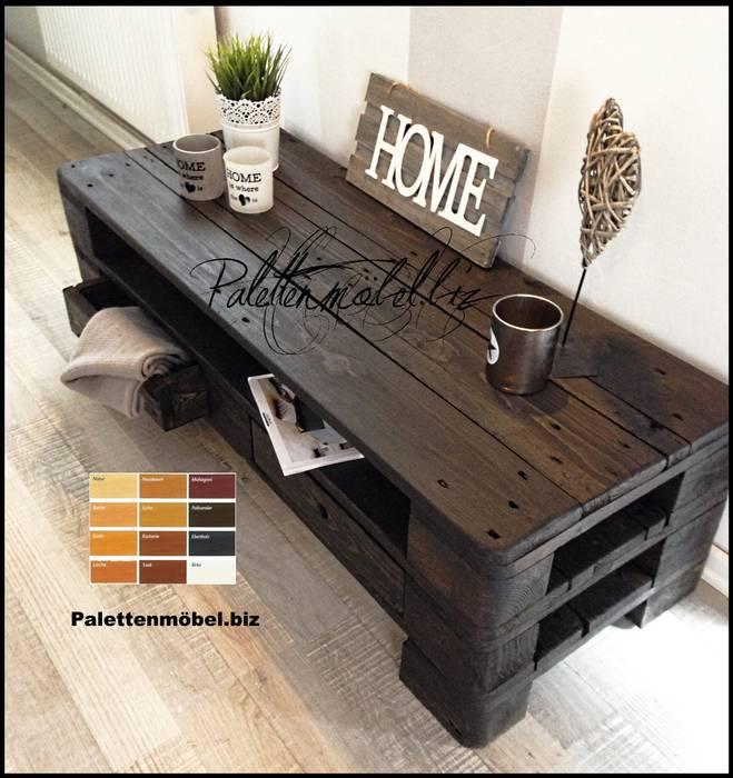 Palettenmobel Tv Sideboard Couchtisch Wohnzimmer Von