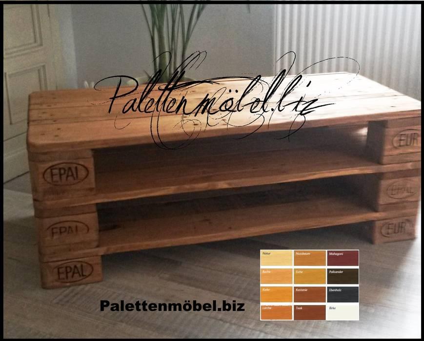 Palettenmobel Tv Sideboard Wohnzimmer Von Palettenmobel Biz Homify