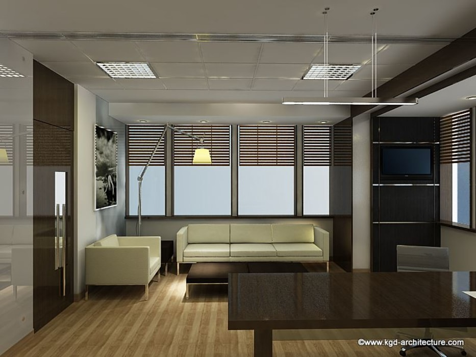 Commercial Interior Projects:  Study/office by Kgd-architecture,