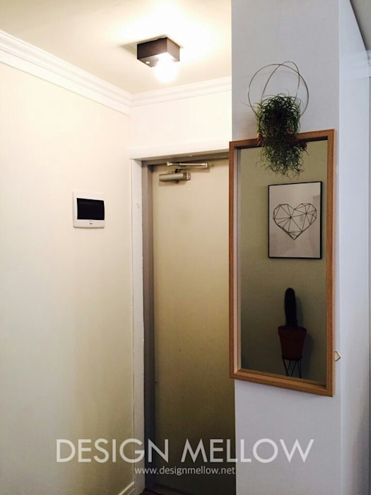 homify Pasillos, vestíbulos y escaleras de estilo escandinavo
