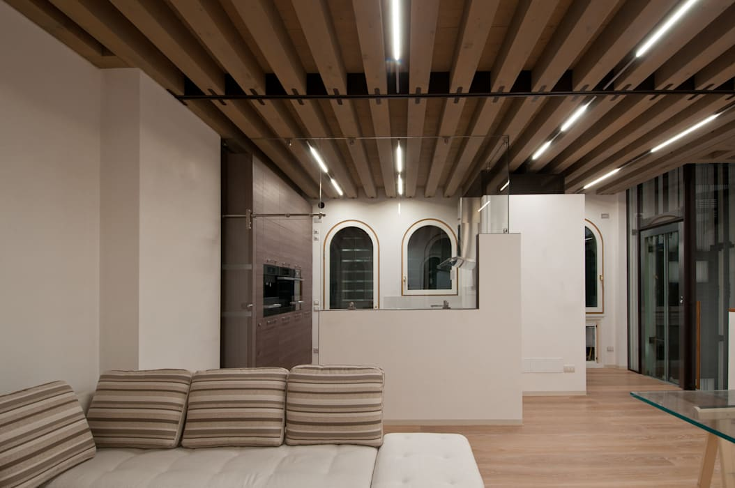 CASA FUSER: Case in stile in stile Moderno di GLIP | The Lighting Partner