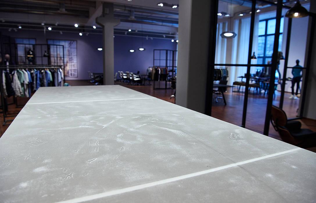 bestehende Möbel mit Beton veredeln: industriell  von Betonkombinat,Industrial