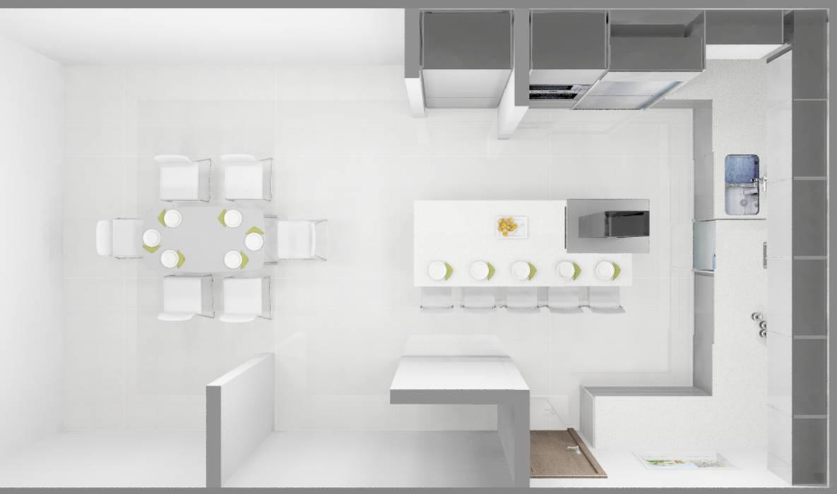 COCINA: Cocinas de estilo  por ARCE FLORIDA
