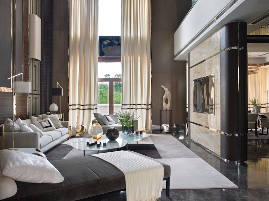 SA&V - SAARANHA&VASCONCELOS Eclectic style living room