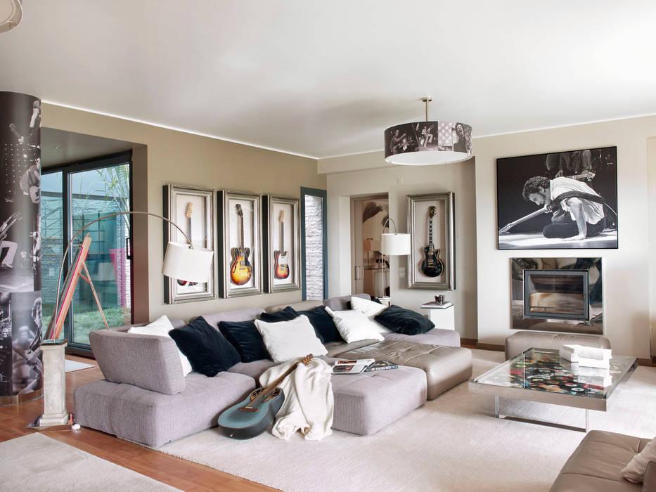 Moderne Wohnzimmer von SA&V - SAARANHA&VASCONCELOS Modern