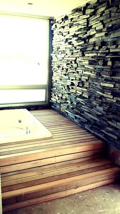 Yacuzzi : Spa de estilo  por VHA Arquitectura