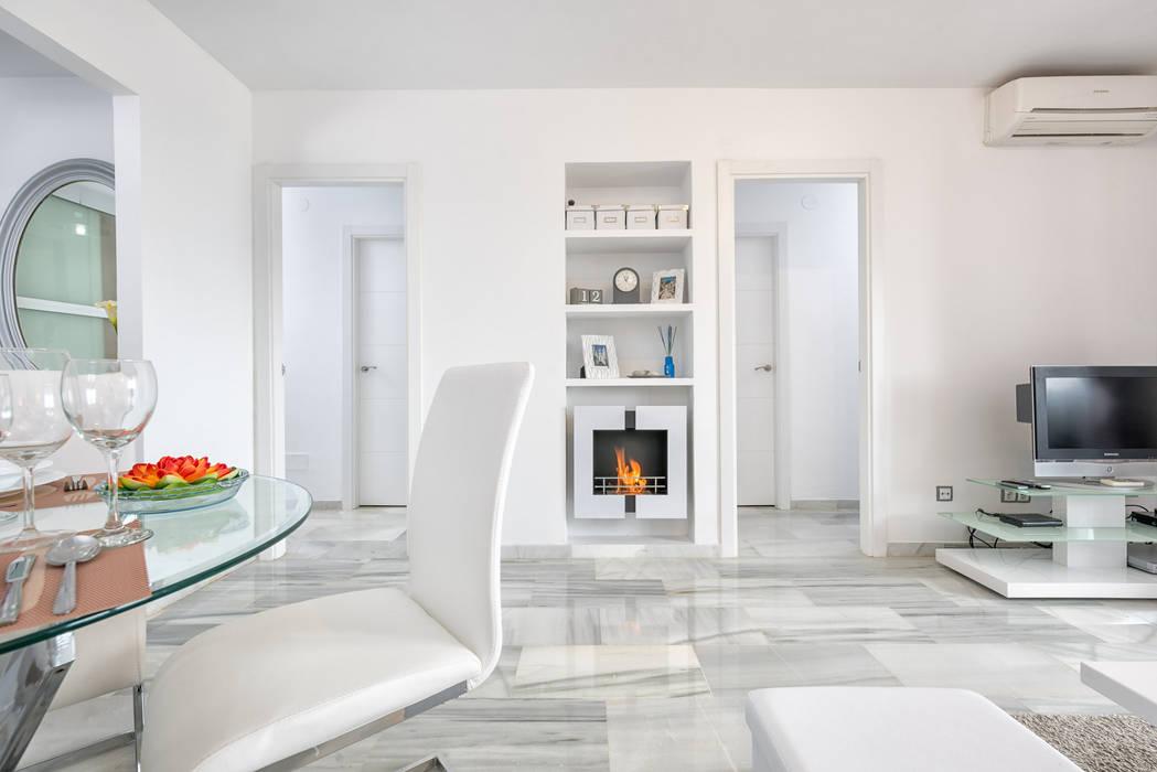 Apartamento con encanto: comedores de estilo de espacios y luz ...