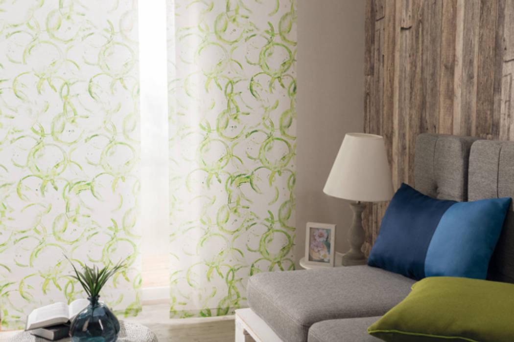 Indes Fuggerhaus Textil GmbH Windows & doors Curtains & drapes Textile Green