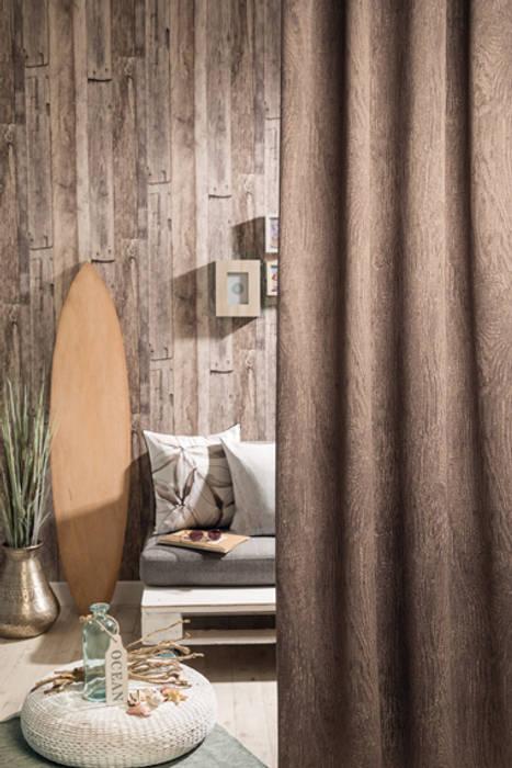Indes Fuggerhaus Textil GmbH Windows & doors Curtains & drapes Textile Brown