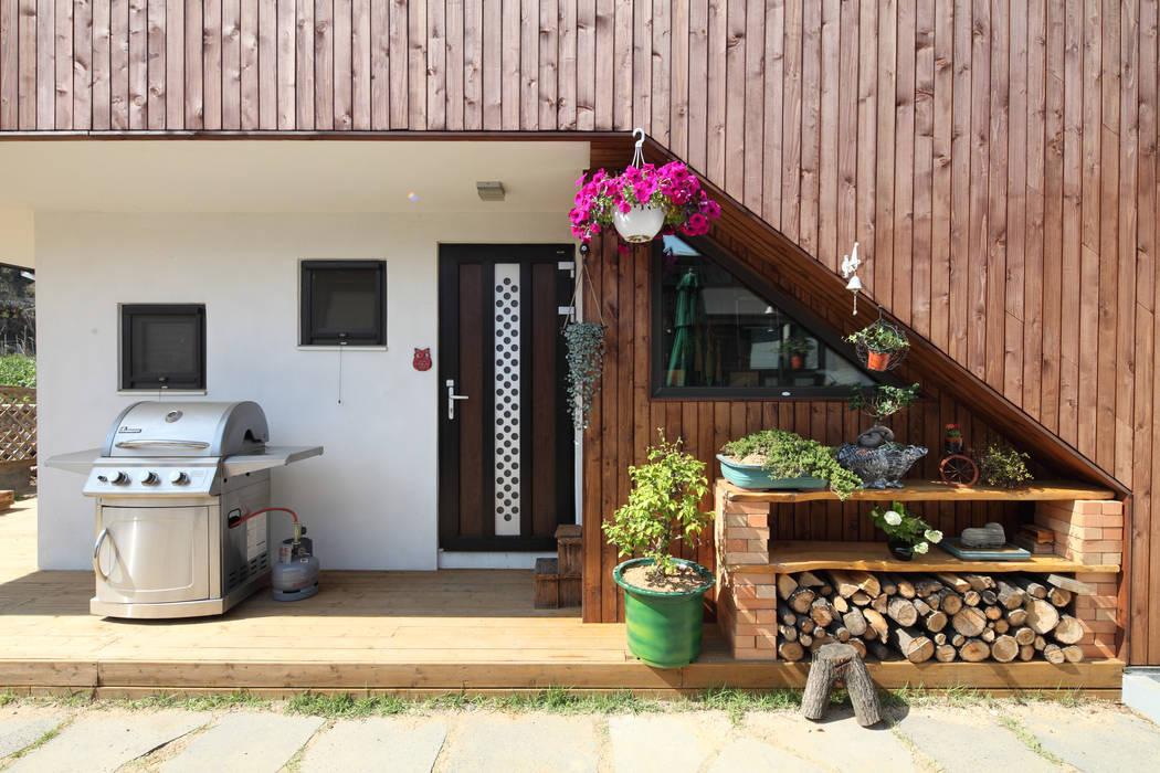 Moderne Häuser von 주택설계전문 디자인그룹 홈스타일토토 Modern