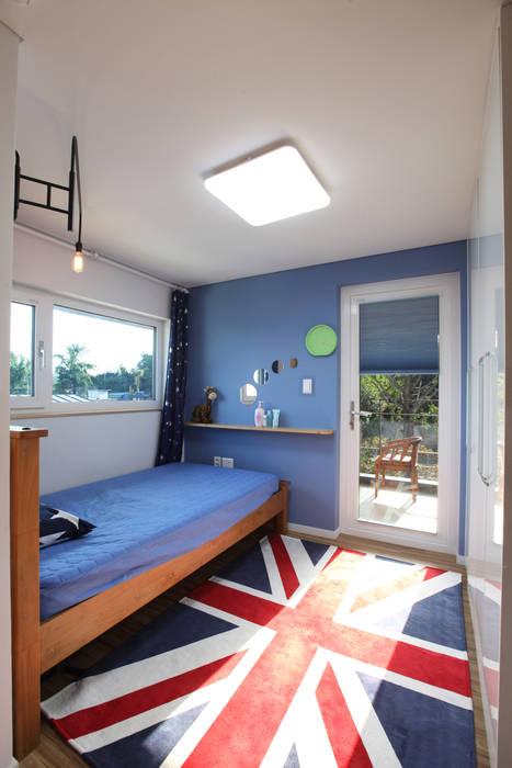 2층 아들방: 주택설계전문 디자인그룹 홈스타일토토의  아이방,