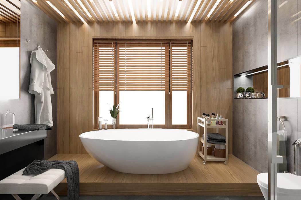 Baños de estilo  por ONE STUDIO, Escandinavo