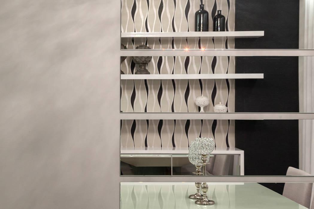 Apartamento Jovem Casal Salas de jantar modernas por Laura Santos Design Moderno