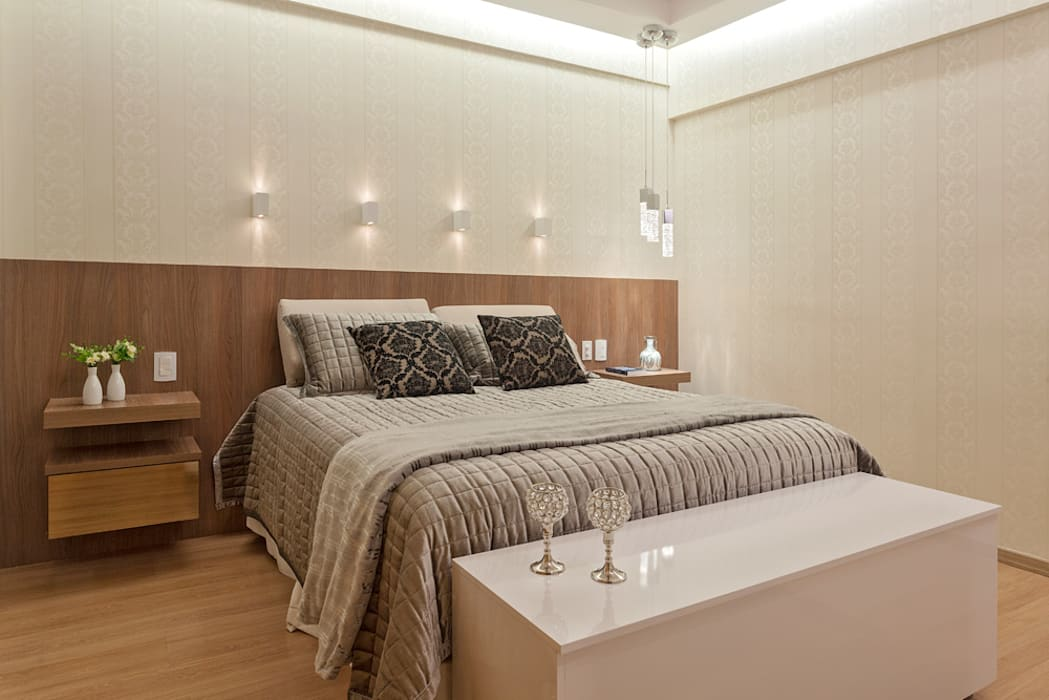 Modern Yatak Odası Laura Santos Design Modern