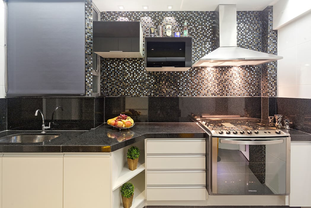 Cocinas de estilo moderno de Laura Santos Design Moderno