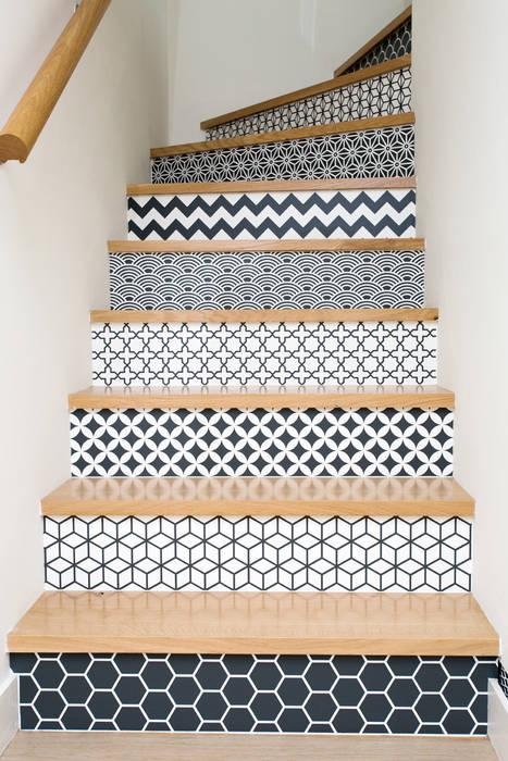 Pasillos, vestíbulos y escaleras de estilo ecléctico de 19 DEGRES Ecléctico
