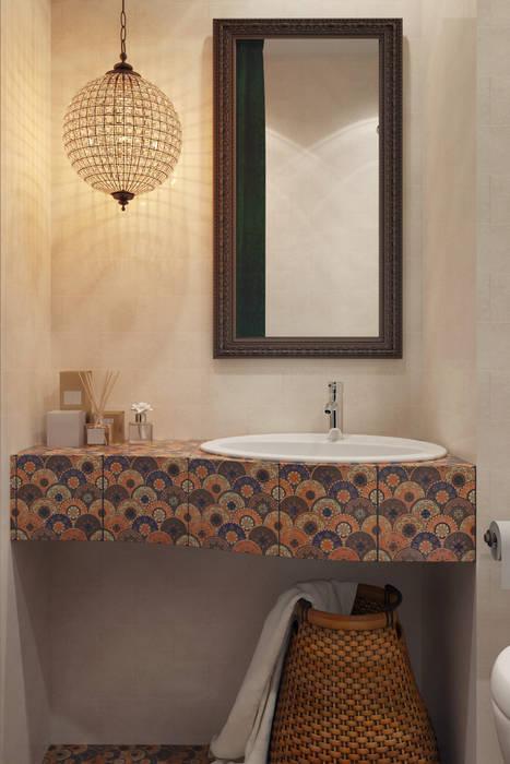 Salle de bains de style  par homify, Asiatique