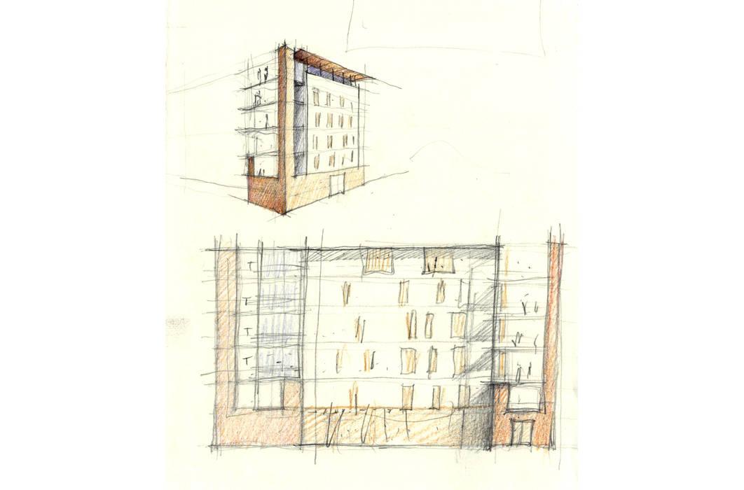 EDIFICIO RESIDENZIALE MARCO POLO STUDIO DI ARCHITETTURA RAFFIN
