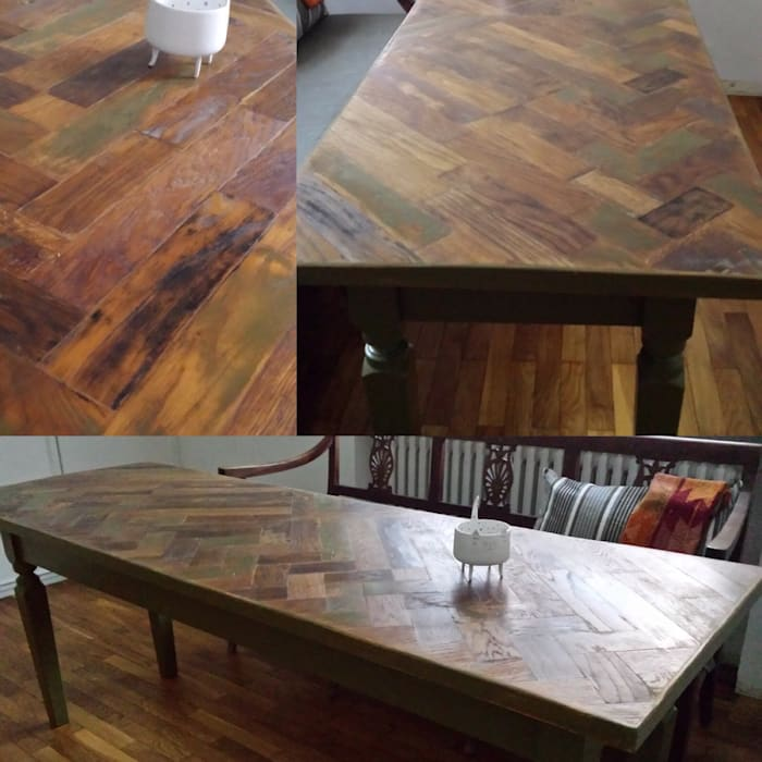 Tavolo riciclo: cucina in stile di restyle e restauri | homify