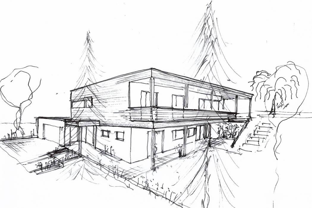 Einfamilienhaus Am Hang Hauser Von Architekt Stefan Toifl