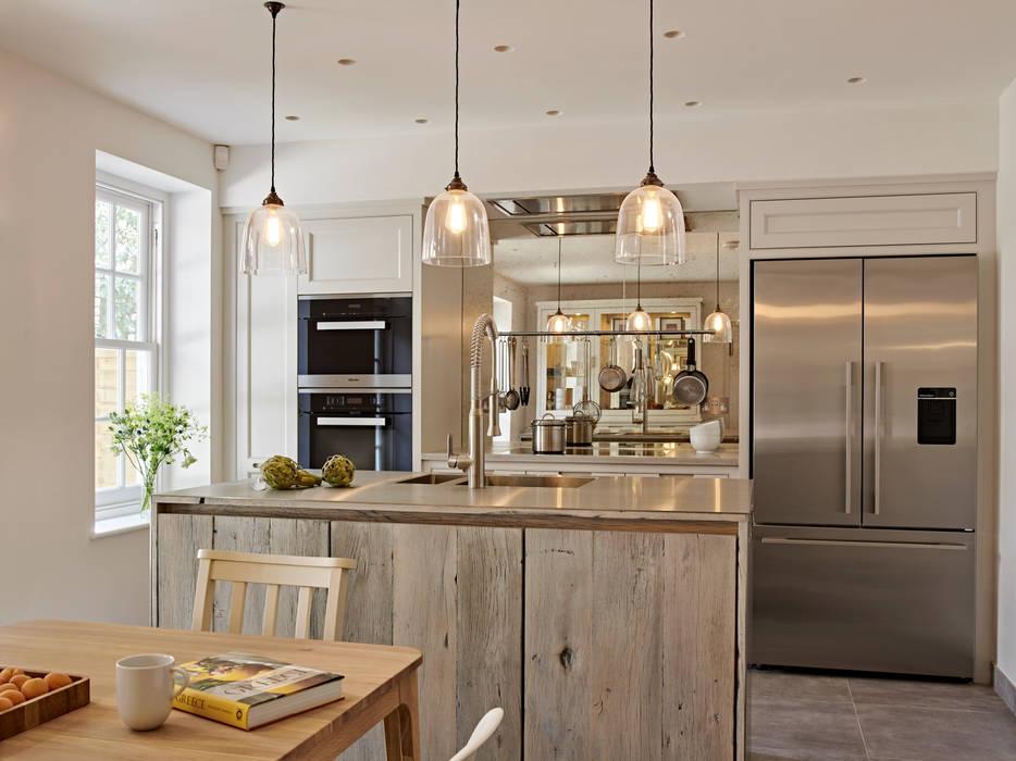 de estilo industrial de Holloways of Ludlow Bespoke Kitchens & Cabinetry, Industrial Madera Acabado en madera