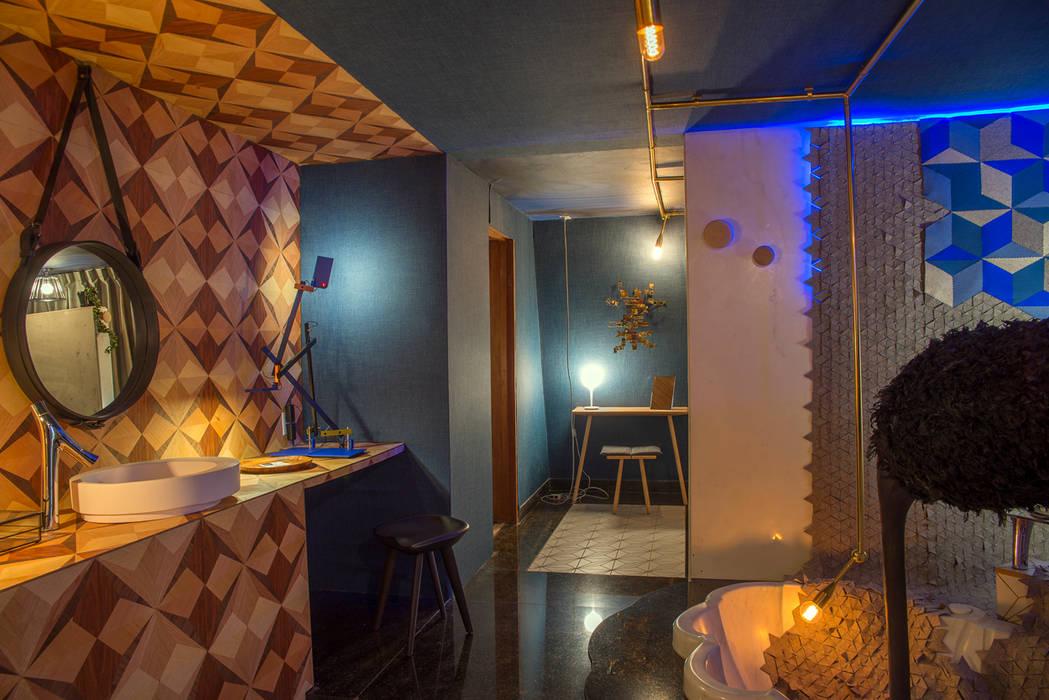 Design House 2014 Germán Velasco Arquitectos Paredes y pisos de estilo moderno