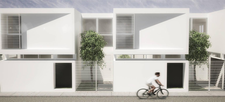 5 Casas: Casas de estilo  por RRA Arquitectura