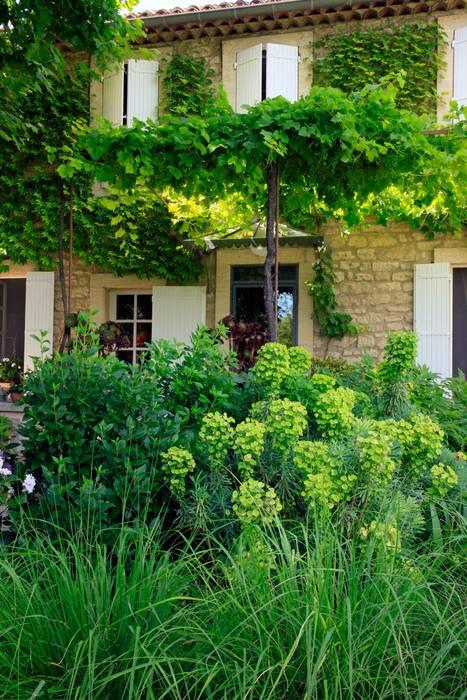 Jardin Champetre Jardin De Style Par Conceptuelles Paysage Et