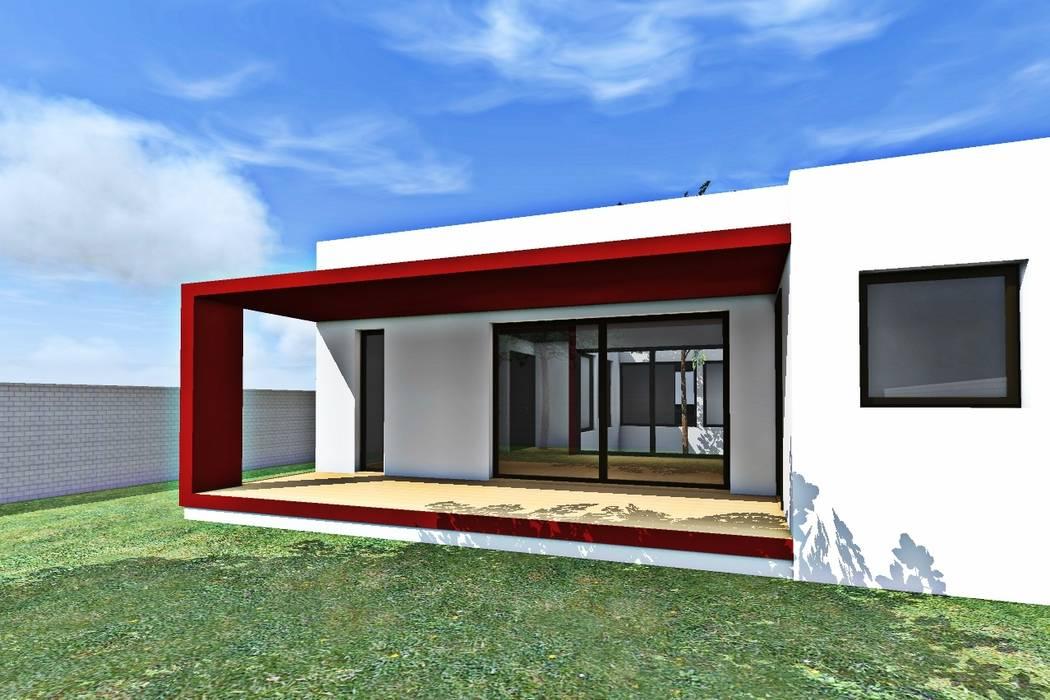 Rumah oleh epb arquitectura, Modern