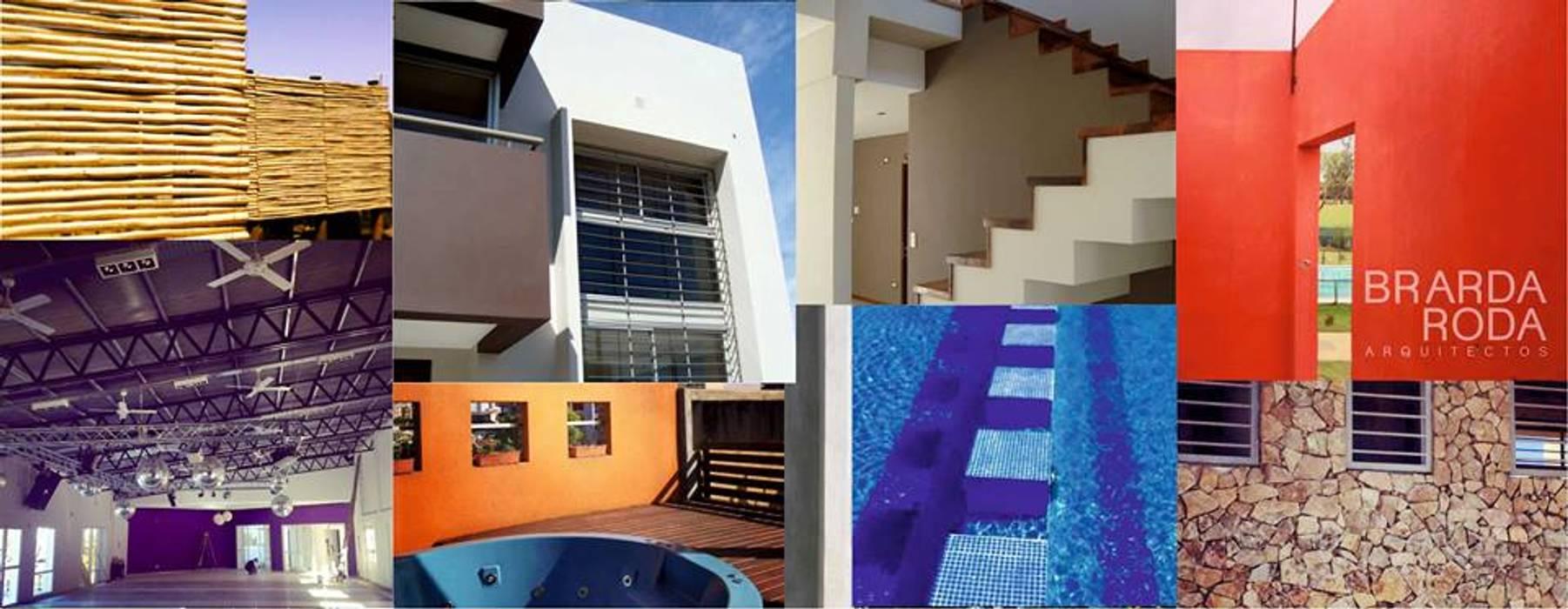 Collage Casas modernas: Ideas, imágenes y decoración de Brarda Roda Arquitectos Moderno