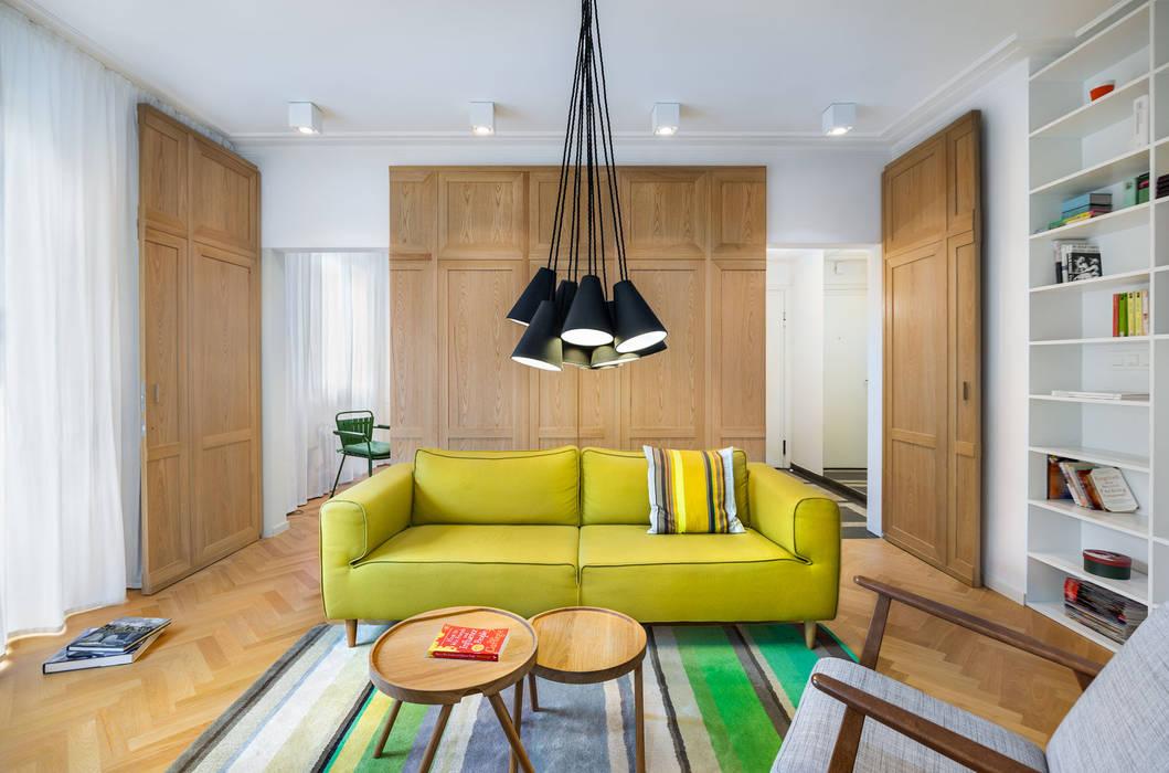 غرفة المعيشة تنفيذ Assen Emilov Photography,