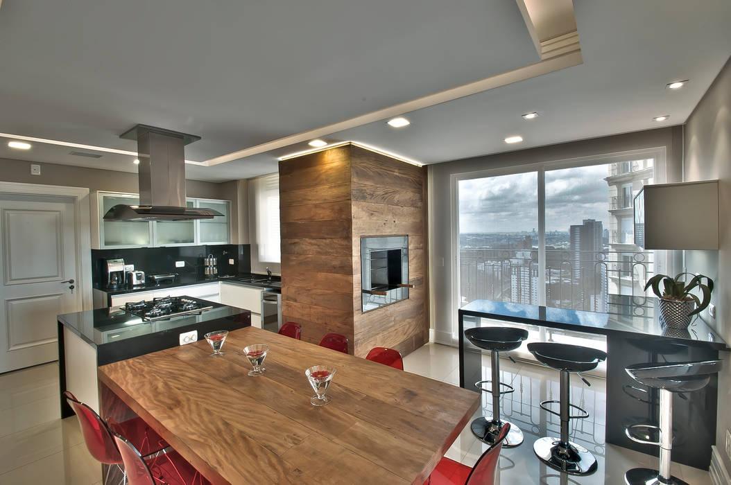 Pauline Kubiak Arquitetura Modern kitchen