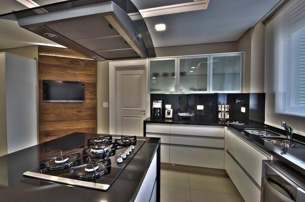 Kitchen Pauline Kubiak Arquitetura Cozinhas modernas