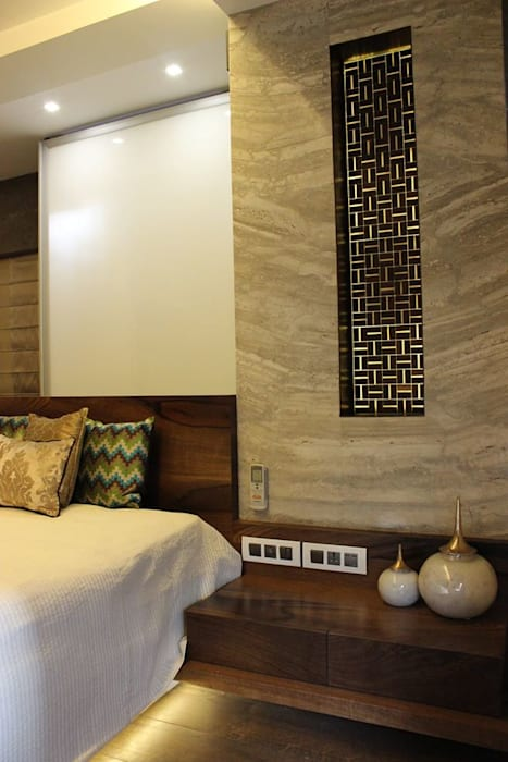 The design house Modern style bedroom