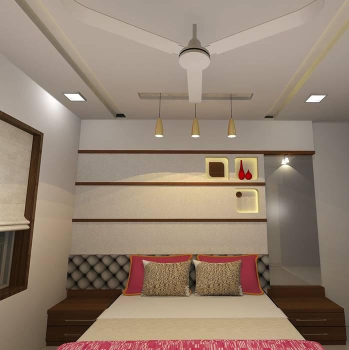 Bedroom designs Modern style bedroom by Optimystic Designs Modern